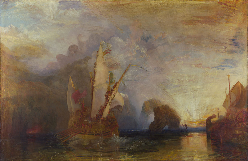 Ulysses deriding Polyphemus Joseph Mallord William Turner 1829