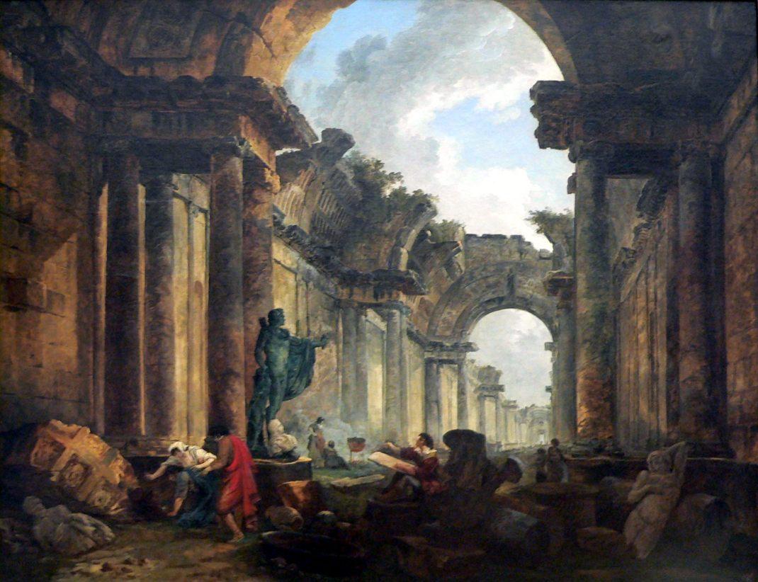 Hubert Robert Louvre en ruine