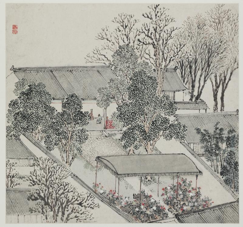 Zhang Hong, Jardin privé de la ville d'Hengxi 1627