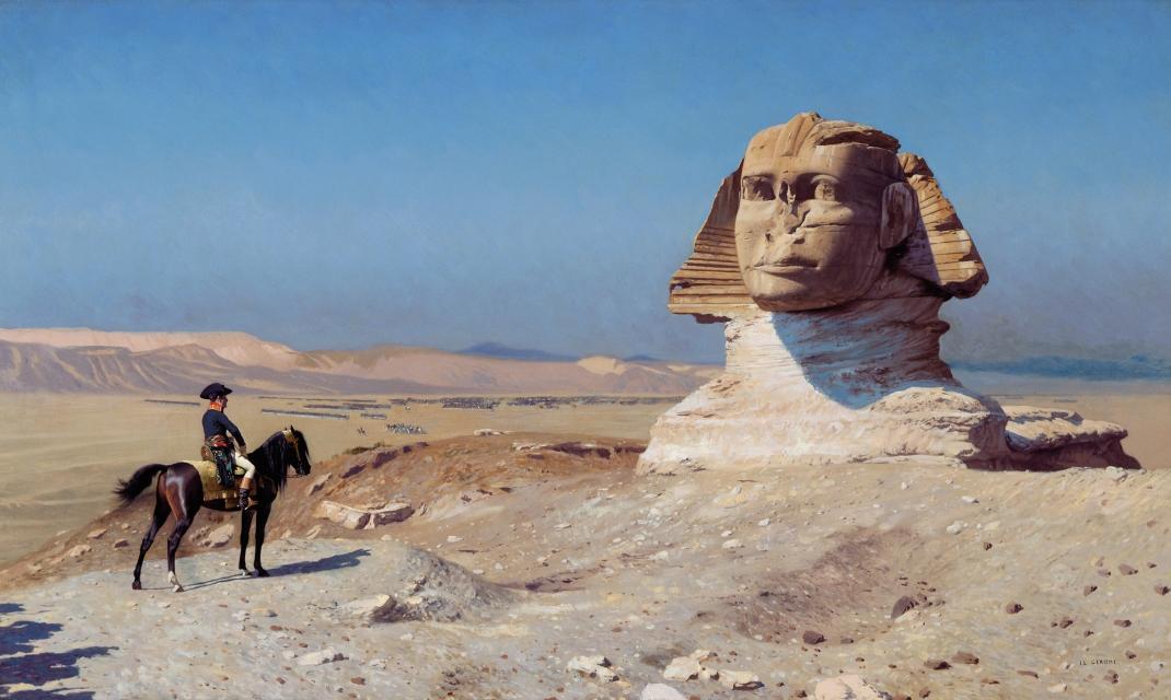 Oedipus in Egypt, by Jean-Léon Gérôme
